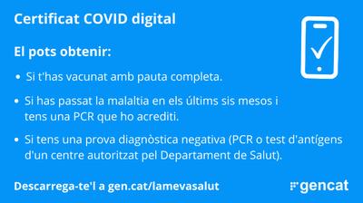 Informació sobre la COVID-19