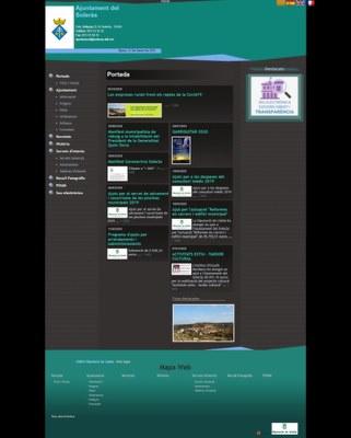 La nova web del Soleràs